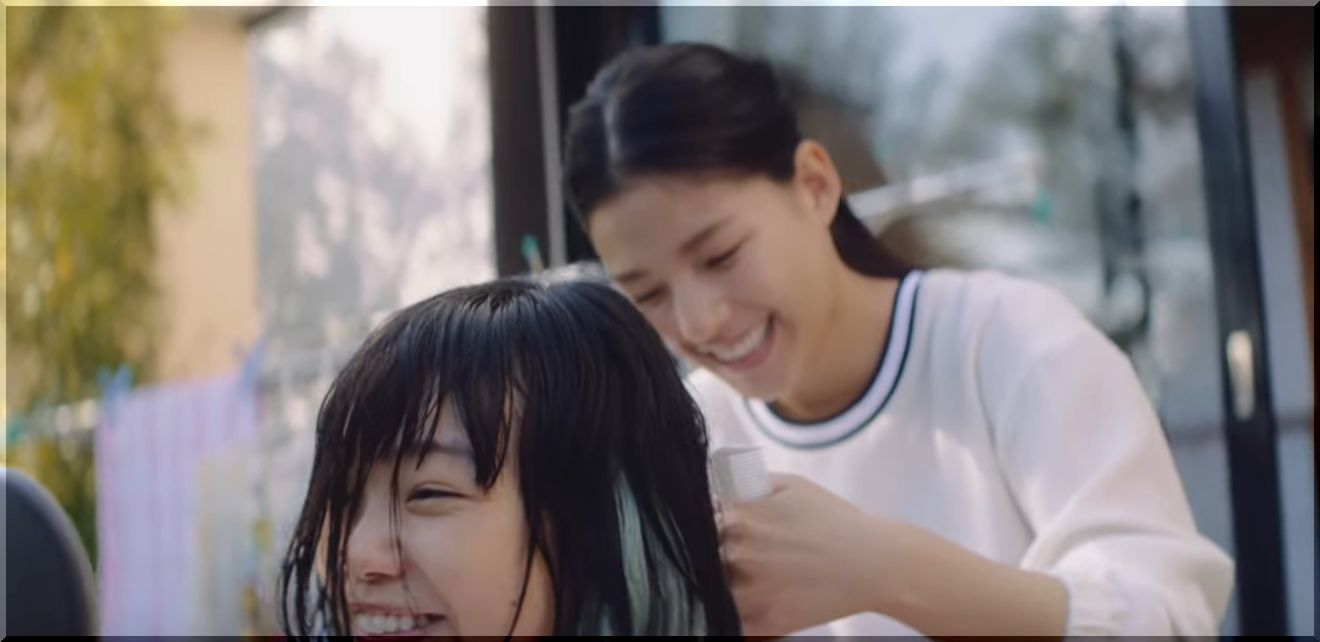 【JT想うたCM】「髪、切ってよ」美容師の姉妹、女優は誰?